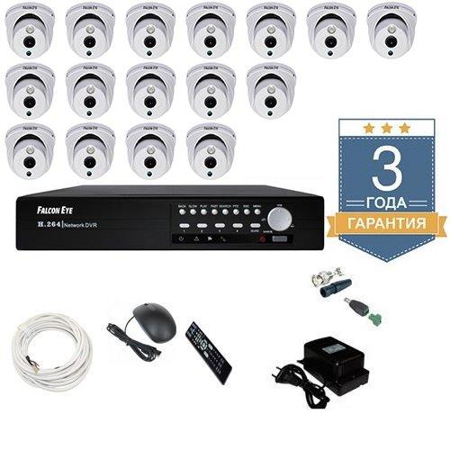 Комплект HD видеонаблюдения AHD 16AFHDU2 на 16 камер