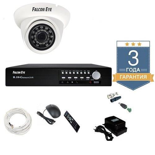 Комплект HD видеонаблюдения AHD для улицы 1AFHDU3