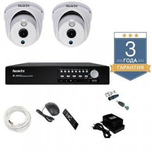Комплект видеонаблюдения AHD 2AFHDU2