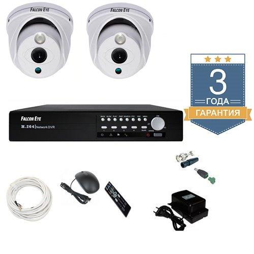 Наружный комплект видеонаблюдения AHD 2AFHDU2