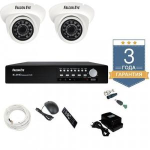Комплект видеонаблюдения AHD 2AFHDU3