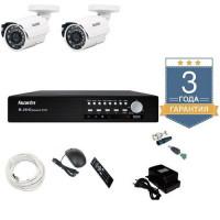 Комплект видеонаблюдения AHD 2AFHDU4