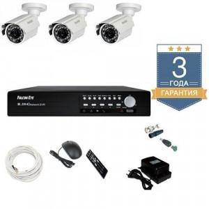 Комплект видеонаблюдения AHD 3AFHDU1