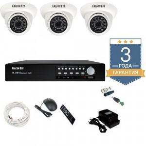 Комплект видеонаблюдения AHD 3AFHDU3