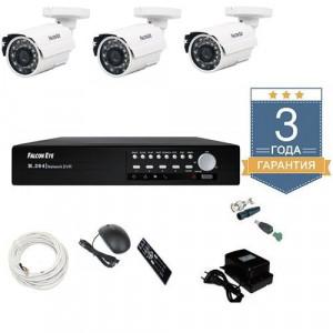 Комплект видеонаблюдения 1 MP AHD 3AFHDU4