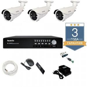 Комплект видеонаблюдения AHD 3AFHDU8