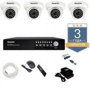 Комплект видеонаблюдения 1 MP AHD 4AFHDU3