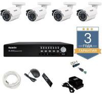 Комплект видеонаблюдения 1 MP AHD 4AFHDU4