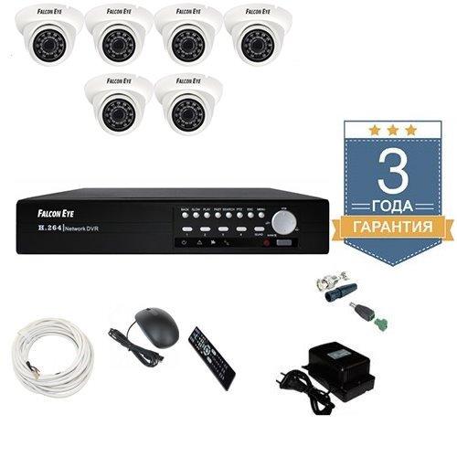 Комплект видеонаблюдения AHD 6AFHDU3