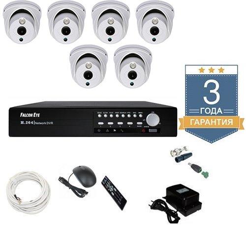 Комплект видеонаблюдения AHD 6AFHDU6