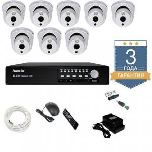 Комплект видеонаблюдения AHD 8AFHDU6