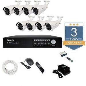 Комплект видеонаблюдения AHD 8AFHDU8