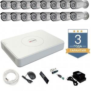 Комплект видеонаблюдения HD-TVI 16THFHDU8