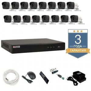 Комплект видеонаблюдения HD-TVI 16THFHDU9