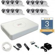 Комплект видеонаблюдения HD-TVI 16THHDU1