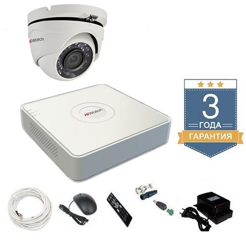 Комплект видеонаблюдения HD-TVI 1THFHDU5 на 1 камеру для дачи
