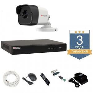 Комплект видеонаблюдения HD-TVI 1THFHDU9