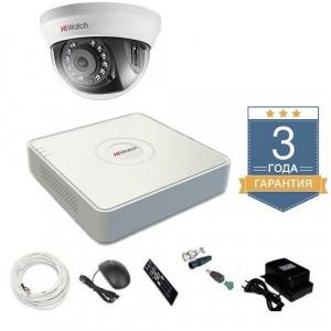 Комплект видеонаблюдения HD-TVI 1THHD2
