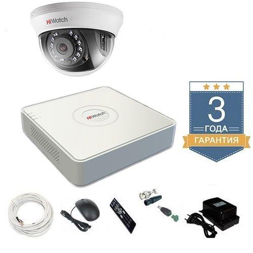 Комплект видеонаблюдения HD-TVI 1THHD2 на 1 камеру