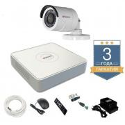 Комплект видеонаблюдения HD-TVI 1THHDU1