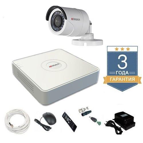 Комплект уличного видеонаблюдения HD-TVI 1THHDU1 на 1 камеру