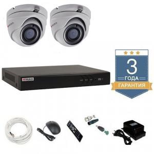 Комплект видеонаблюдения HD-TVI 2THFHDU10