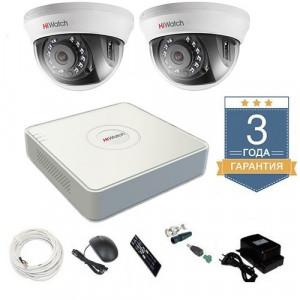 Комплект видеонаблюдения HD-TVI 2THHD2