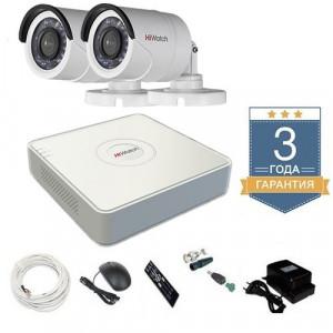 Комплект видеонаблюдения HD-TVI 2THHDU1