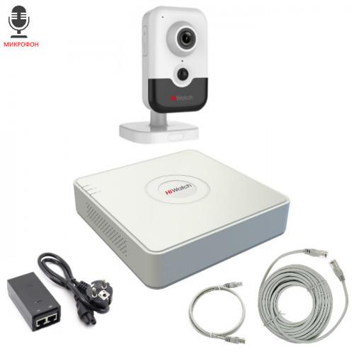 Комплект IP видеонаблюдения 1IPHFH3