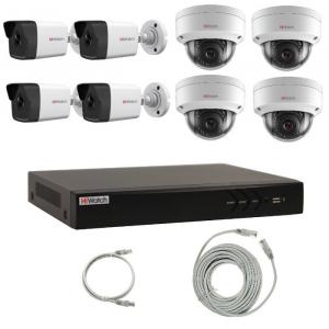 Комплект IP видеонаблюдения 8IPHFH4