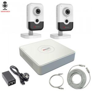 Комплект IP видеонаблюдения 2IPHFH3