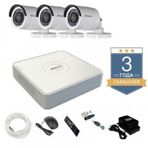 Комплект видеонаблюдения HD-TVI 3THHDU1