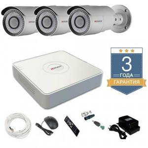 Комплект видеонаблюдения HD-TVI 3THHDU4