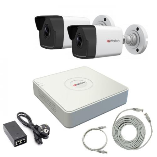 Комплект IP видеонаблюдения 2IPHFH1