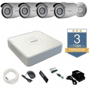 Комплект видеонаблюдения HD-TVI 4THFHDU8