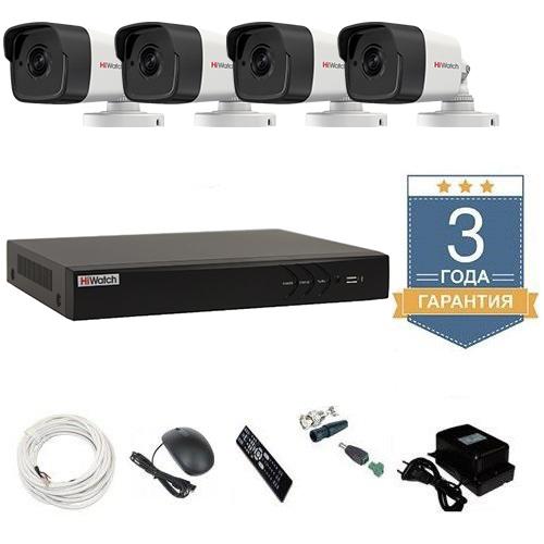 Комплект видеонаблюдения HD-TVI 4THFHDU9 на 4 камеры