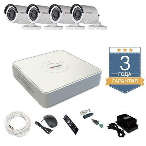 Комплект видеонаблюдения HD-TVI 4THHDU1 на 4 камеры
