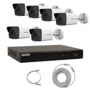 Комплект IP видеонаблюдения 6IPHFH1