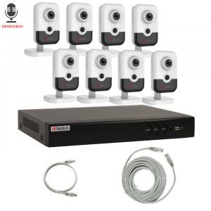 Комплект IP видеонаблюдения 8IPHFH3
