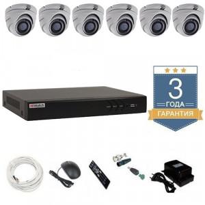 Комплект видеонаблюдения HD-TVI 6THFHDU10