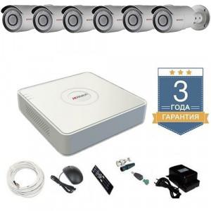 Комплект видеонаблюдения HD-TVI 6THFHDU8