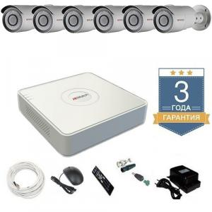 Комплект видеонаблюдения HD-TVI 6THHDU4