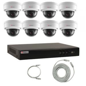 Комплект IP видеонаблюдения 8IPHFH2