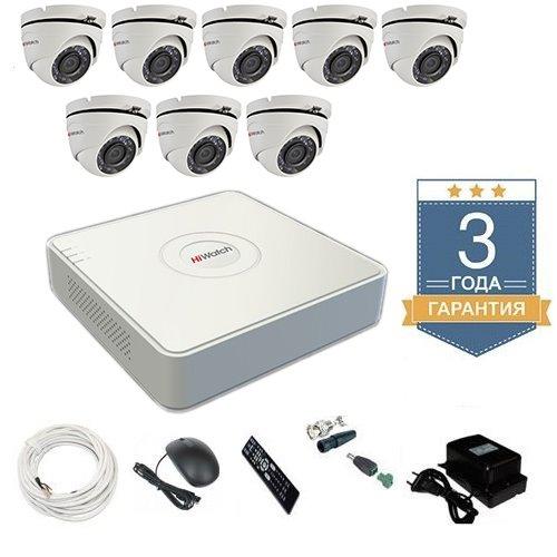 Комплект видеонаблюдения HD-TVI 8THFHDU5 на 8 камер