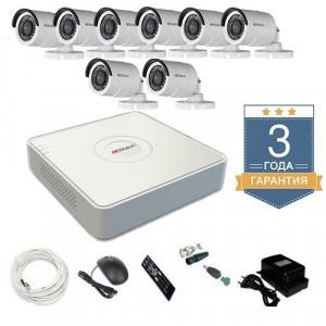Комплект видеонаблюдения HD-TVI 8THFHDU7