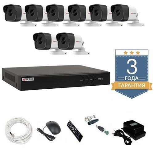 Комплект видеонаблюдения HD-TVI 8THFHDU9 на 8 камер