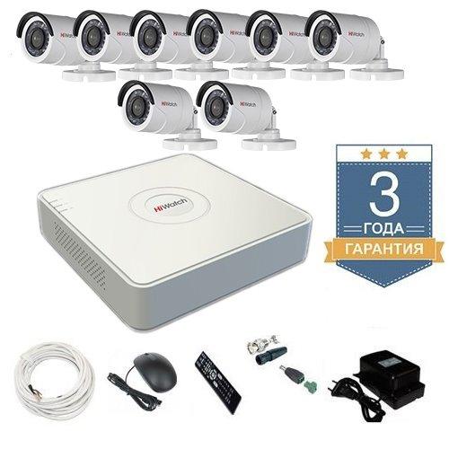 Комплект видеонаблюдения HD-TVI 8THHDU1 на 8 камер