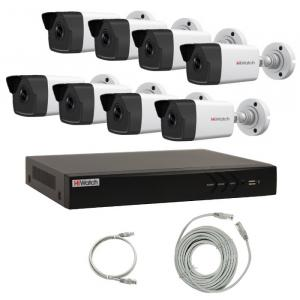 Комплект IP видеонаблюдения 8IPHFH1