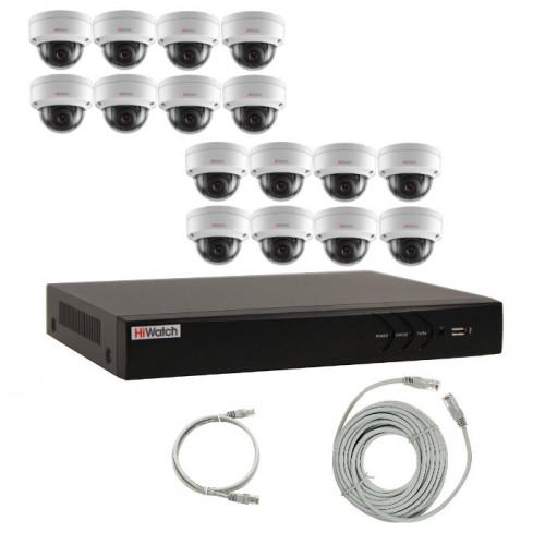 Комплект IP видеонаблюдения 16IPHFH2