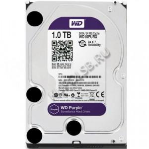Жесткий диск WD Purple WD10PURX 1Тб